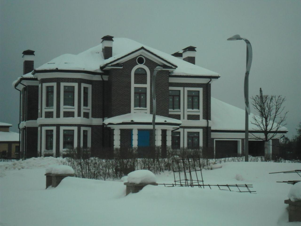 Строительство и ремонт кирпичного дома в коттеджном поселке Миллениум парк в Московской области