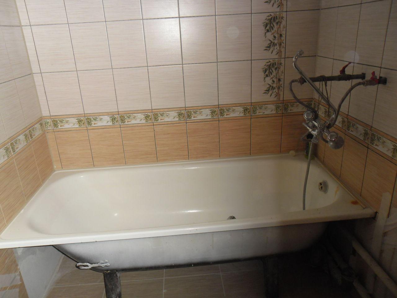Ремонт ванной комнаты за 4500 руб/м2 в Подольске Московской области